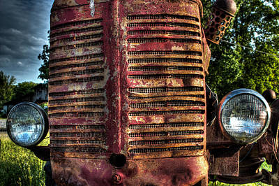 Photograph - Tractor by Michael Eingle