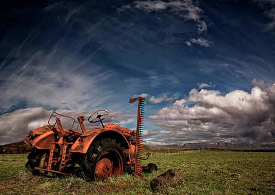 Tractor Wall Art - Photograph - Tractor by ?orsteinn H. Ingibergsson