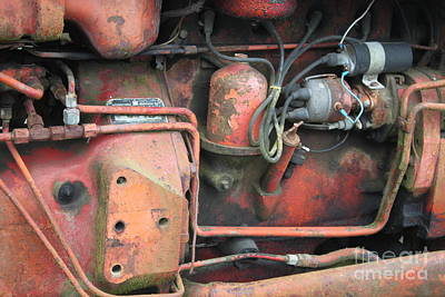 Photograph - Tractor Parts 3 by Terri Thompson