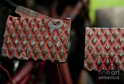 Photograph - Tractor Pedals by Wilma  Birdwell