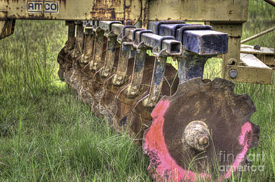 Photograph - Tractor Plow by Dale Powell