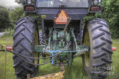 Photograph - Tractor Rigging by Dale Powell