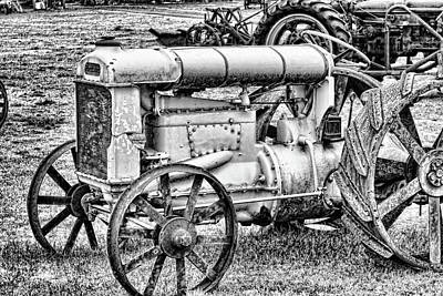 Photograph - Tractor by Ron Roberts