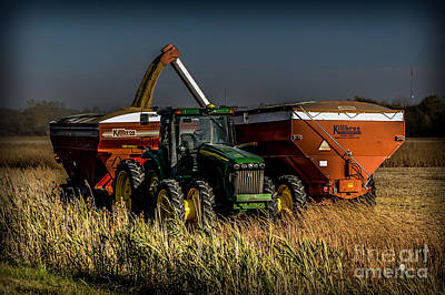 Photograph - Tractor by Ronald Grogan