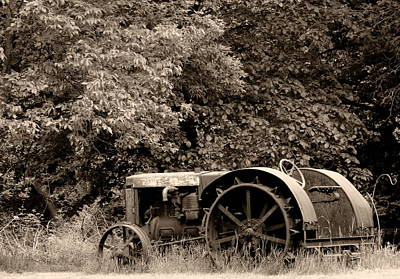 Photograph - Tractor Rust by Wild Thing