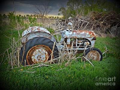 Photograph - Tractor by Samantha Radermacher