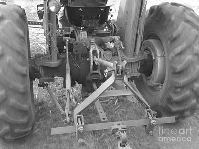 Photograph - Tractor Series 005 by Serena Ballard