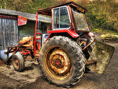 Realistic Photograph - Tractor by Svetlana Sewell