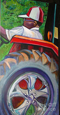 Painting - Tractor Throne by Ecinja Art Works