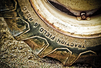 Photograph - Tractor Tire by Marilyn Hunt