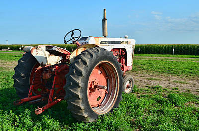 Photograph - Tractor...comfort King by Tom Druin