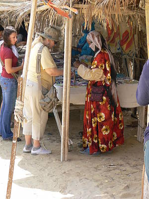 Photograph - Trading With The Bedouins by Katerina Naumenko