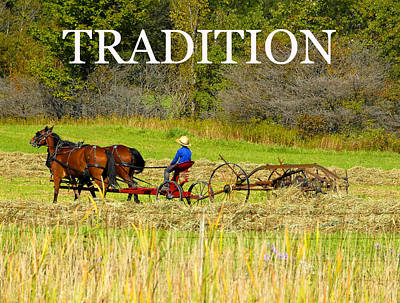 Photograph - Tradition Work A by David Lee Thompson