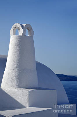 Photograph - Traditional Chimney In Oia Town by George Atsametakis