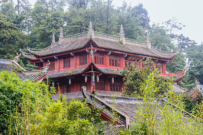 Photograph - Traditional Chinese Building by Robert Hebert