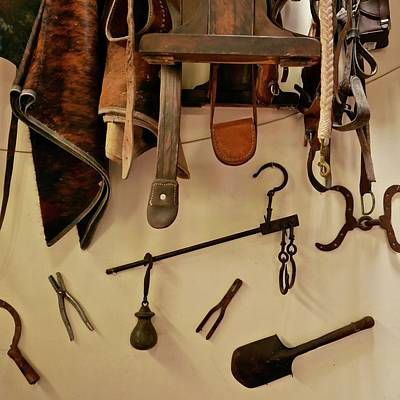 Salento Photograph - Traditional Colombian Farming Tools by Kike Calvo