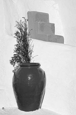 Traditional Decoration In Oia Print by George Atsametakis