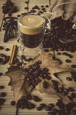 Photograph - Traditional Espresso II by Marco Oliveira