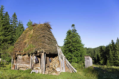 Romania Photograph - Traditional Farm House In The Apuseni by Martin Zwick