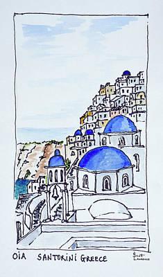 Traditional Greek Architecture Art Print