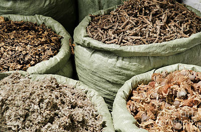 Rose - Traditional Herbs In Vietnam Market by JM Travel Photography