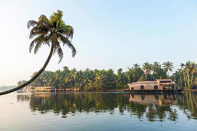 Adam Photograph - Traditional Houseboat, Kerala by Peter Adams