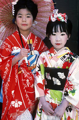 Photograph - Traditional Japanese Clothing by Susan McCartney