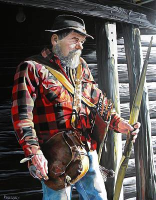 Woodsmen Painting - Traditional by Matt Kowalczyk