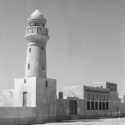 Photograph - Traditional Mosque In Qatar by Paul Cowan