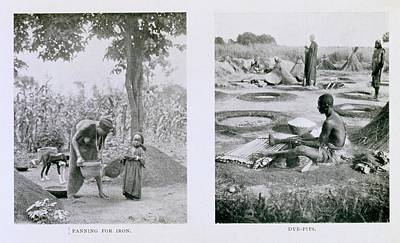 Panning Photograph - Traditional Nigerian Industry by Schomburg Center For Research In Black Culture/new York Public Library