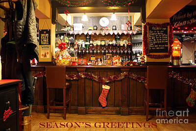 Photograph - Traditional Seasons Greetings by Terri Waters