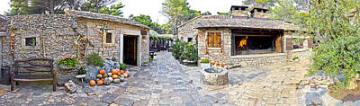 Photograph - Traditional Stone Village In Dalmatia by Brch Photography