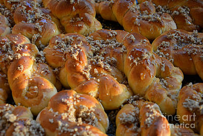 Boulangerie Photograph - Traditional Sweet Bakery by Ramona Matei