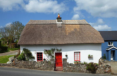 Traditional Thatched Cottage Art Print