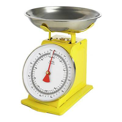 Traditional Weighing Scales Art Print by Science Photo Library