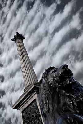 London Skyline Photograph - Trafalgar Square London by Mark Rogan