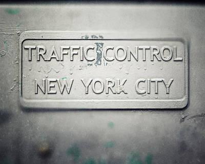 Traffic Control Art Print by Lisa Russo