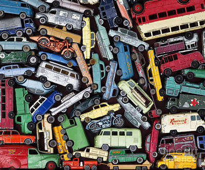 Traffic Jam Art Print by Tim Gainey