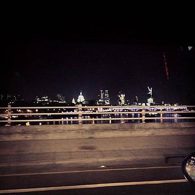 London Skyline Photograph - #traffic #london #skyline Isn't So Bad by Georgina Balcombe