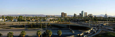 Traffic Moving On The Road, Phoenix Art Print by Panoramic Images