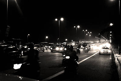 Photograph - Traffic On Indian Roads by Sumit Mehndiratta
