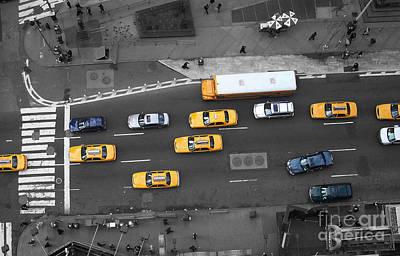Traffic Report Art Print by Dan Holm