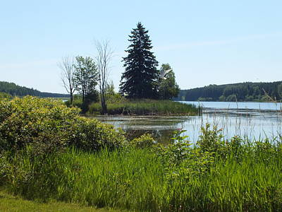 Photograph - Trafton Lake 2 by Gene Cyr