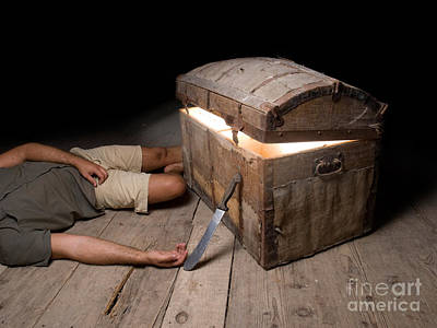 Treasure Box Photograph - Tragic Adventure by Sinisa Botas