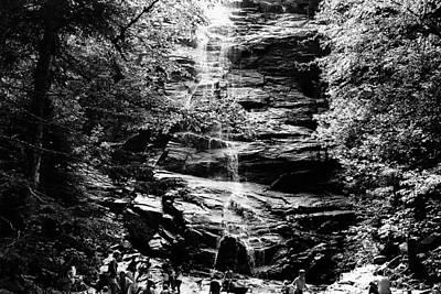 Trail Bath Print by Brian Nogueira