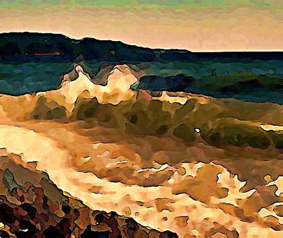 Trail Bay Wave Art Print