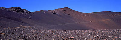 Trail In Volcanic Landscape, Sliding Art Print by Panoramic Images