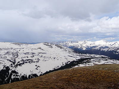 Photograph - Trail Ridge Road In Winter by Dan Sproul