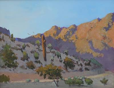 Painting - Trail To Telegraph Pass by Bill Tomsa