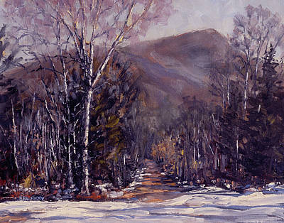 Painting - Trail To Winn Mountain by Ken Fiery